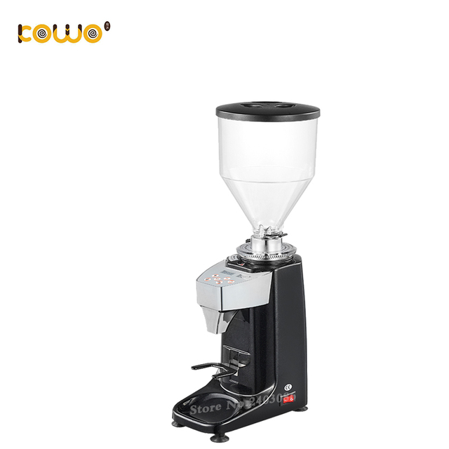 Mini Electric Espresso Burr Coffee Grinder Blade Type Coffee Bean