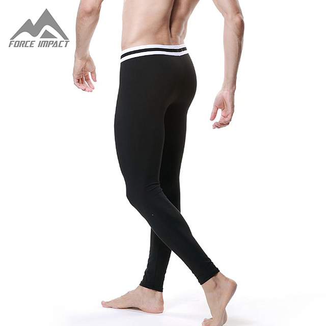 Nueva Suave Térmica Calzoncillos Largos Pantalones de Fitness Sexy Largo Pantalones Calientes Del Otoño Invierno Casa Inferior Traje Sleep Wear DT06 Dropshipping