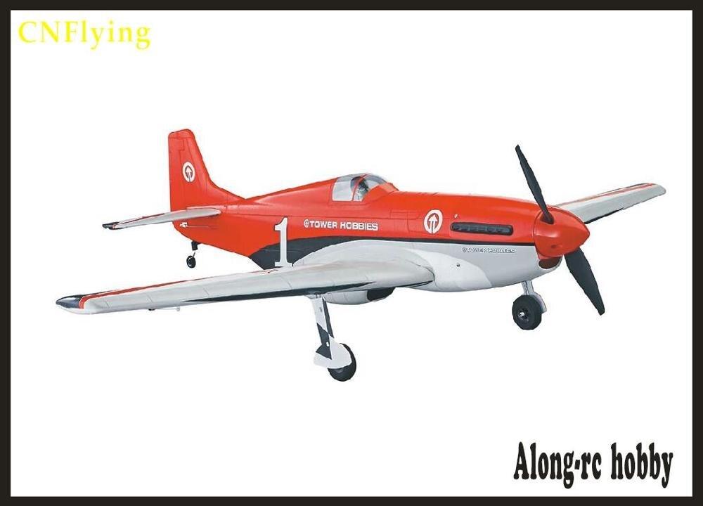 Avión EPO RC avión de la Segunda Guerra Mundial avión modelo HOBBY juguete wingspan 1016mm P51 P 51 MUSTANG Fighter (tiene conjunto de kit o conjunto de PNP)-in Aviones RC from Juguetes y pasatiempos    1