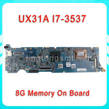 Original ZenBook Touch UX31A Laptop motherboard UX31A2 REV4.1 Mainboard Processor I7-3537 8G Memory 100% tested