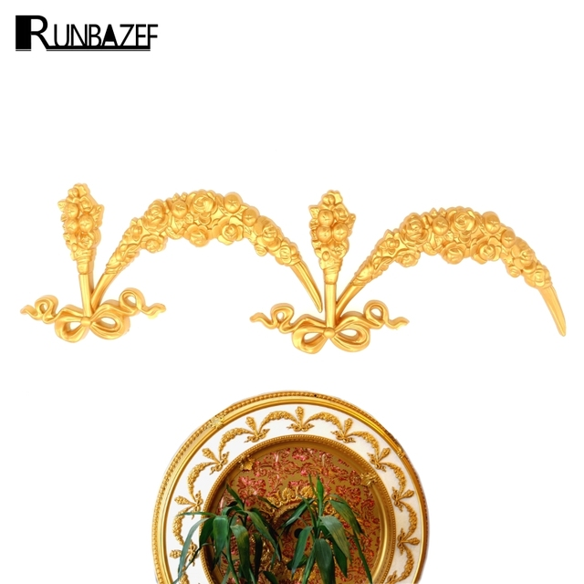 RUNBAZEF Materials Hollowed out Ceiling Background Wall Decorative ...