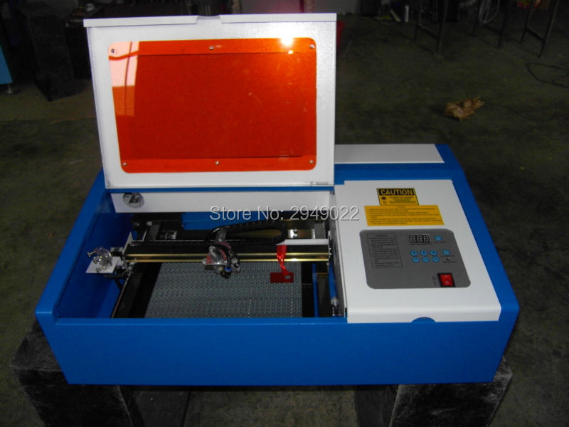 Desktop Mini 40w Co2 Rubber Stamp/wood/acrylic/paper Laser Engraving Cutting Machine  manufacturer 3020 40w mini co2 desktop laser engraving cutting machine