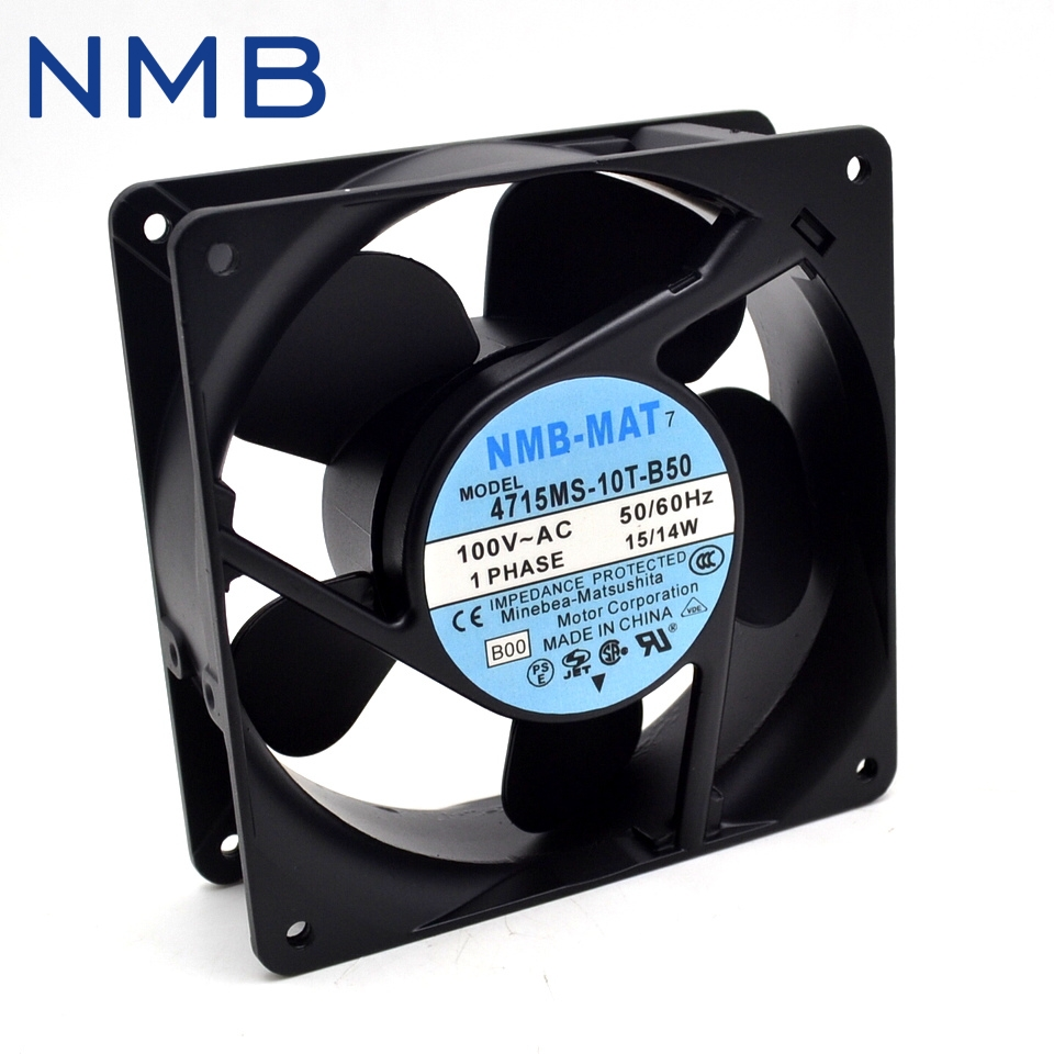 New and Original 12038 4715MS-10T-B50 100V 15 / 14W UPS power supply cooling fan for NMB 120*120*38mm new and original qfr1224ehe 12038 12cm 24v 0 75a wind capacity inverter fan for delta 120 120 38mm