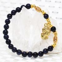 Fashion 14 style strand round beads bracelet natural sandstone galaxy stone women 6mm 8mm bangle jewelry 7.5inch B1945