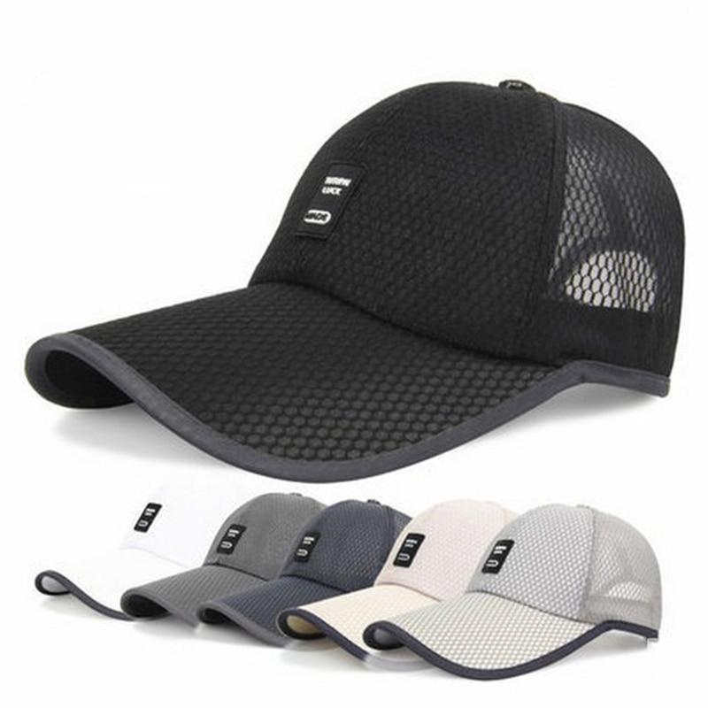 2017 summer mesh baseball cap snapback hats trucker hat ...