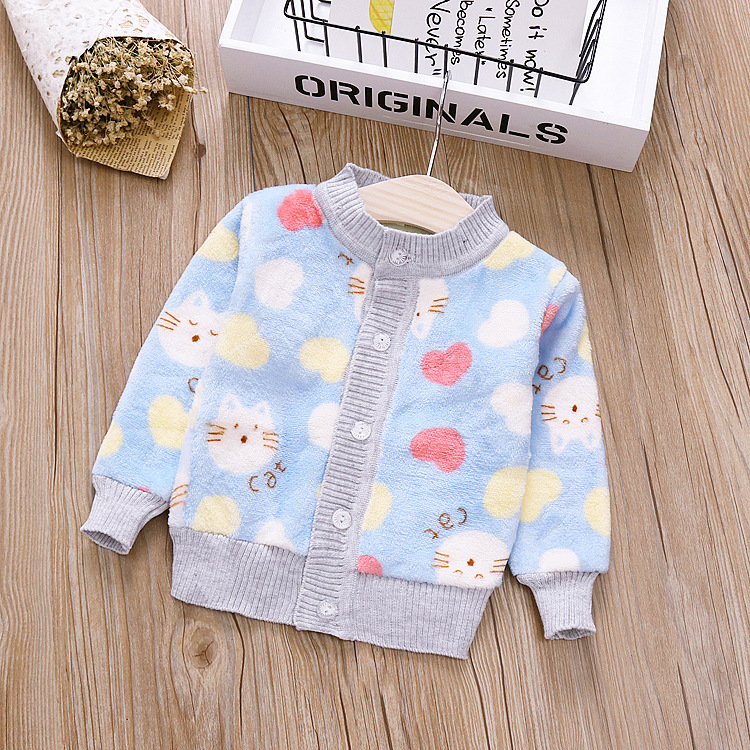 99c84986b947 2018 New Autumn Winter Baby Girl Sweater Casual Style Girl Cotton ...