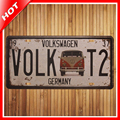 Nuevo VW Volk T2 Banda Chic Home Bar Vinyl Firma Decoración Vintage Carteles de Chapa Pub Placas De Pared De Metal Decorativo de La Vendimia arte