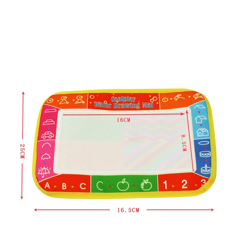 29*19 cm Russian Water Drawing Mat with 1pcs Magic Color Pen Baby Waterproof Drawing Board Children Kids Learning Painting Toys