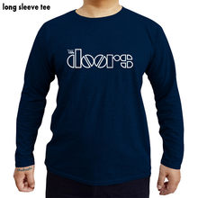 Rock The Doors Men T Shirts Casual Cotton Men JIM MORRISON T-shirts shubuzhi long sleeve Cotton Man Tops Tees(China)