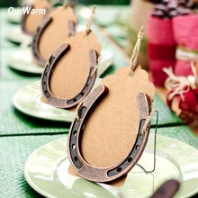 OurWarm Wedding Horseshoe Favors Party Accessories New Home Housewarming Gift 7cm*6cm DIY Theme Decoration