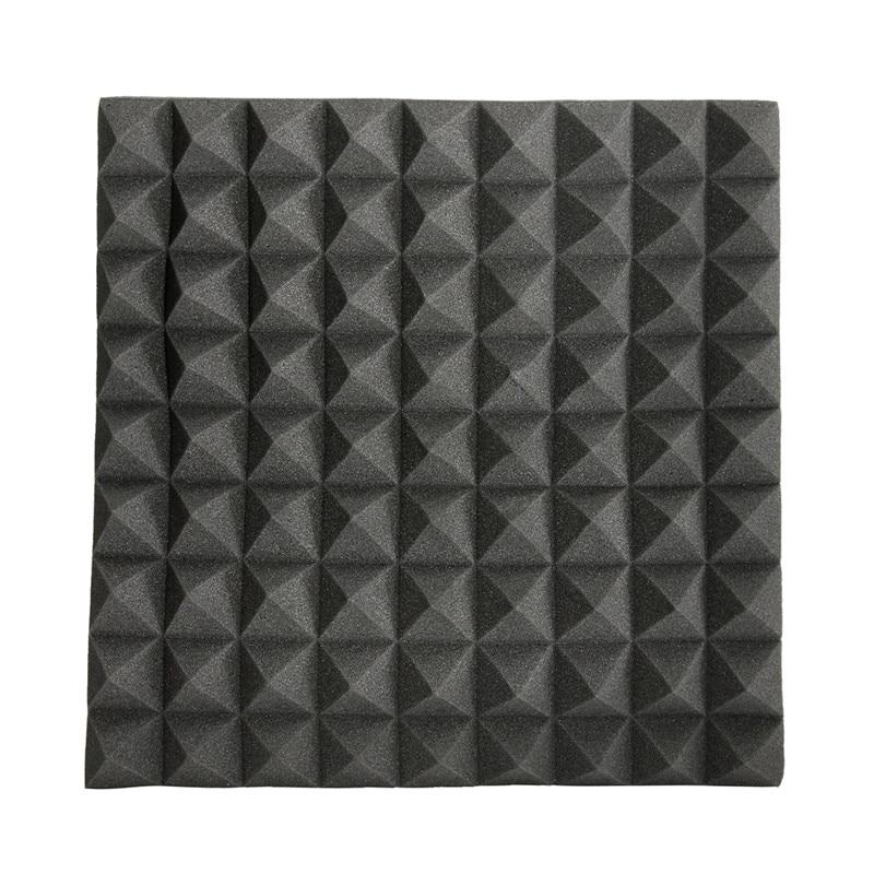 45x45x5cm Soundproofing Foam Acoustic Foam Studio Sound Treatment Absorption Proofing Wedge Tiles Polyurethane Foam sound absorption coefficient analysis