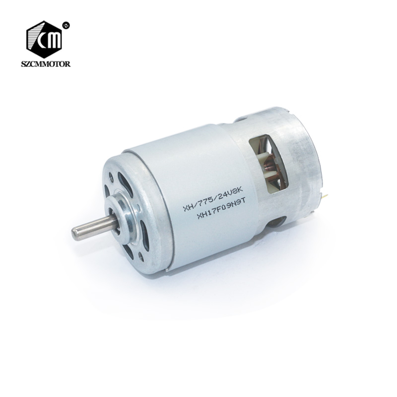 цена на RS775 DC Motor 12V-24V 4000-9000 RPM Ball Bearing Large Torque High Power High Quality Electronic Motor For Electric Drill