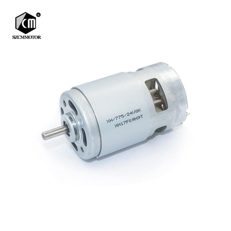 NEW 12V DC Motor RS775//RS770 Mabuchi 215W High Power 5mm Shaft 25,000RPM USA