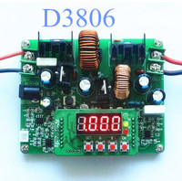 50pcs Lot By Dhl Or Fedex 38V6A Charger Ammeter Voltmeter D3806 CNC DC Adjustable Regulated