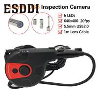 2017 New Hot 5MM IP67 Android Endoscope Inspection 6LED USB Borescope Video Camera HT 66AC HT