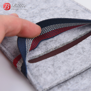 """Image 4 - For Apple iphone 6 6s 7 8 4.7""""Ultra thin Handmade Wool Felt phone Sleeve Cover For iphone 6 6s 7 8 plus 5.5"""" Bumper Phone Bag"""
