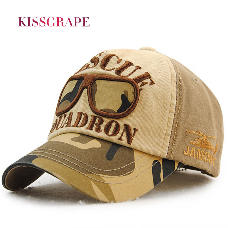 KISSGRAPE Brand Summer Autumn Kids Cotton Baseball Caps Boy's Hat Snapback Cap Children's Camouflage Sport Sun Hats with Glasses cntang brand summer lace hat cotton baseball cap for women breathable mesh girls snapback hip hop fashion female caps adjustable