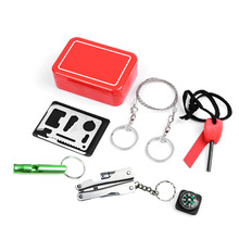Emergency Equipment SOS Kit Car Earthquake Emergency Supplies SOS Outdoor Camping Survival Tool Survival Gear Tools