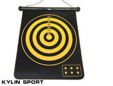 darts suit 17 inch double-sided professional dartboard set board flocking plate for wholesale and free shipping
