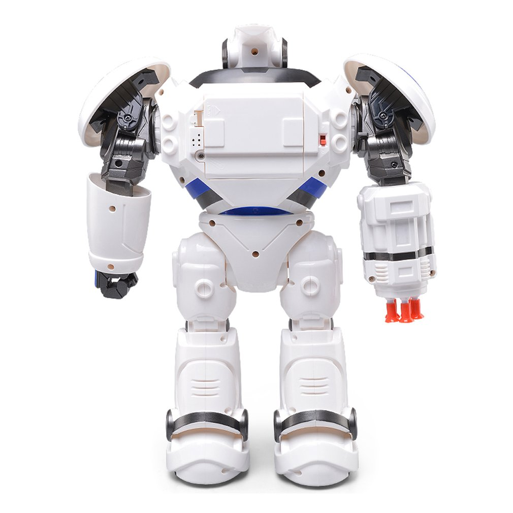 JJRC R1 RC Robot Programmable Defender Intelligent Remote Control Toy Dancing Armor Battle Robot Remote Control Toy For Child new intelligent rc robot funny game toys 2 4g dancing battle robot model toy multi function remote control robots kit gift