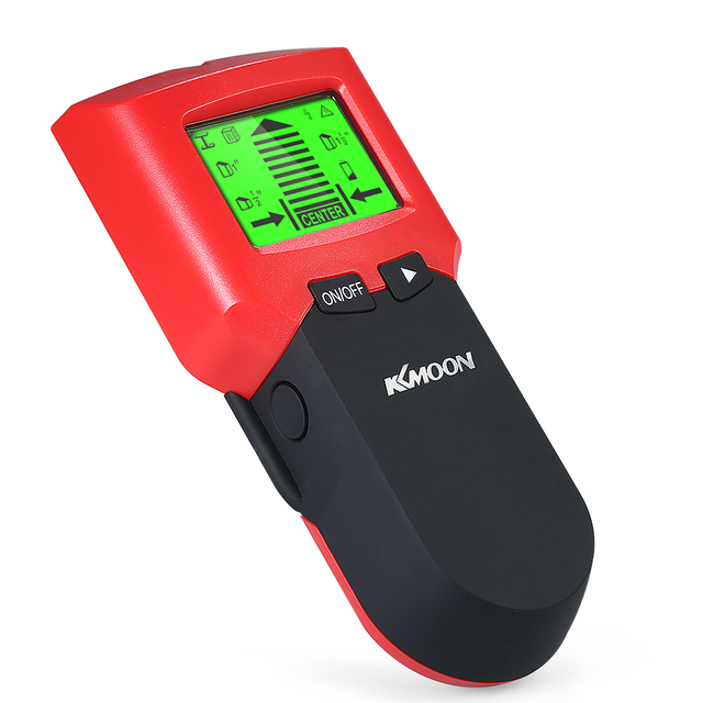 Stud Finder Localizador de Detector De Parede com Grande LCD Digital de Madeira Centro de Pregos de Metal e Cabo AC Live Wire Scanner de Advertência detecção