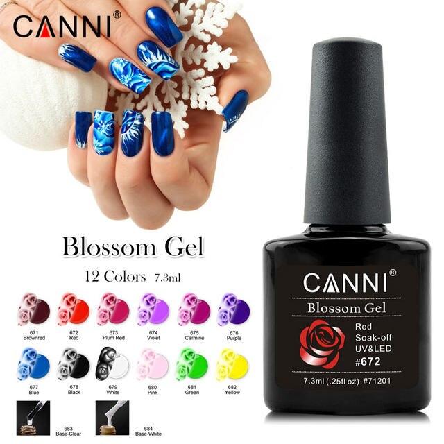 Tienda Online Canni blanco claro Bases Blooming Esmaltes gel de uñas ...