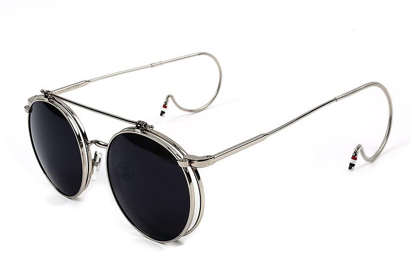 HTB1oCGKQFXXXXbCXpXXq6xXFXXXK - FREE SHIPPING Steampunk Sunglasses Round JKP423