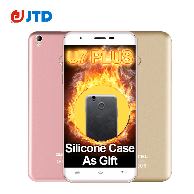 Oukitel U7 Plus 5 5 Inch Android 6 0 font b Smartphone b font MTK6737 Quad