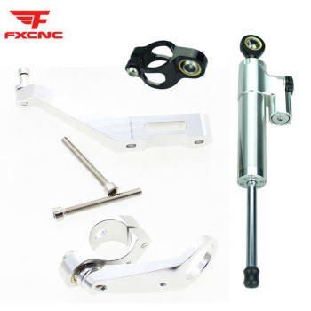For Honda CBR954RR 2002 - 2003 k2 k3 CNC Aluminum Motorcycle Stabilizer Damper Steering Mount Bracket Holder Support Kit Set