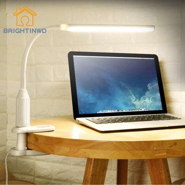 5W Table Light 24led Clip LED Table Lamp much brightness adjustment book light Eye- Protection clip light Childern Night Light