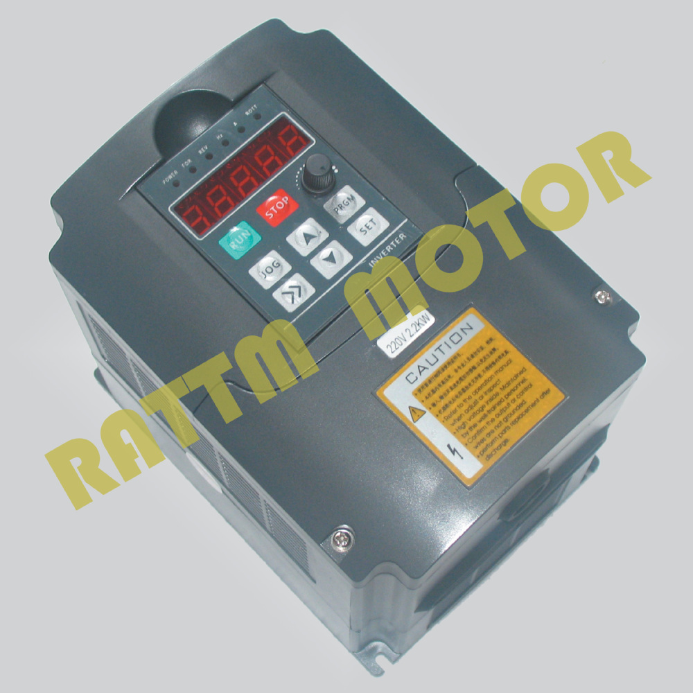 2.2KW 380V 10A Spindle VFD inverters Vector Control Frequency Converter 2HP