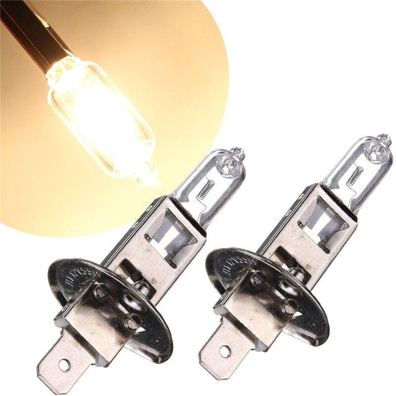 2pcs H1 55W Auto Car Halogen Headlight Super Bright Fog Light Bulb Lamp Parking 6000K DC12V Car Light Sourse датчик lifan auto lifan 2