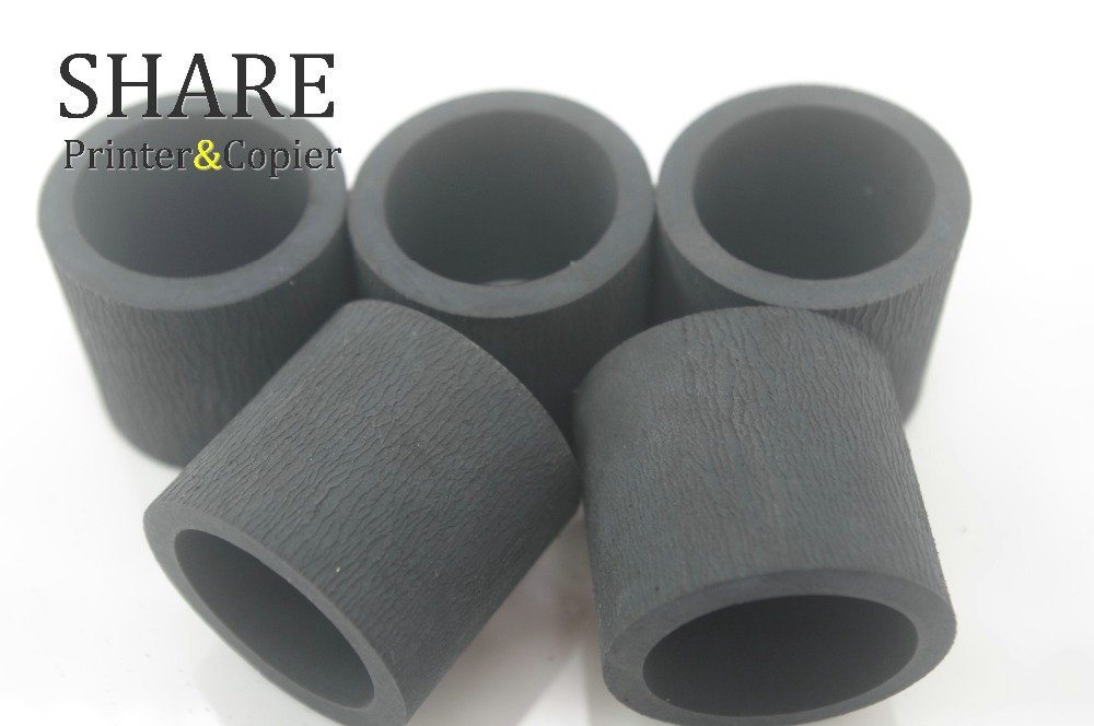 Black Pickup roller tire RM1-6414 RL1-1370 for hp P2035 P2055 P3005 P3015 RM1-6313 RM1-6323 RM1-6414 RM1-6467 RM1-9168 RM1-3763 pickup roller feed roller separation roller for epson r200 r210 r220 r230 r310 r350