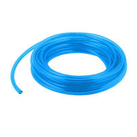 8mm OD 5mm ID Fuel Gas Air Polyurethane PU Tubing Hose Pipe 8M 26Ft Clear Blue