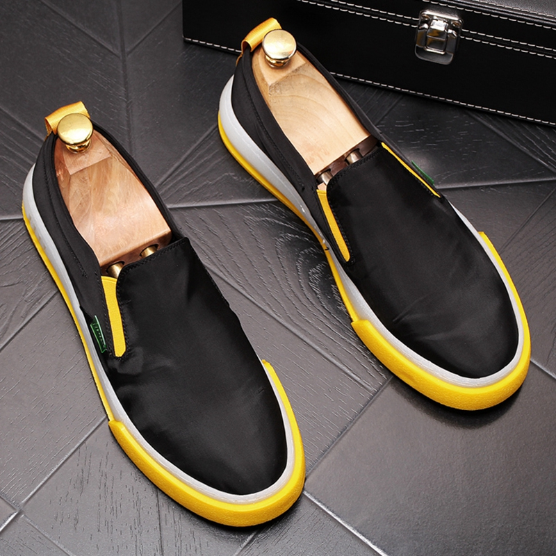 CuddlyIIPanda Men Fashion Casual Sneakers Summer Cotton Slip On Breathable Loafers Male Casual Walking Shoes Zapatos De Hombre