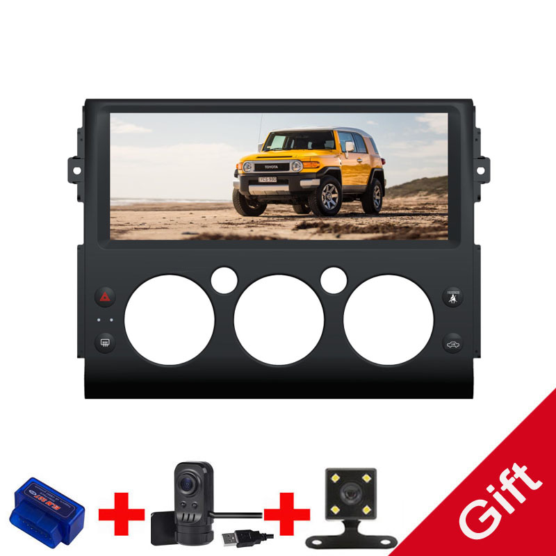 Android 9.0 Octa Core PX5/PX6 Fit Toyota FJ Cruiser 2006- 2013 Car DVD Player Navigation GPS Radio