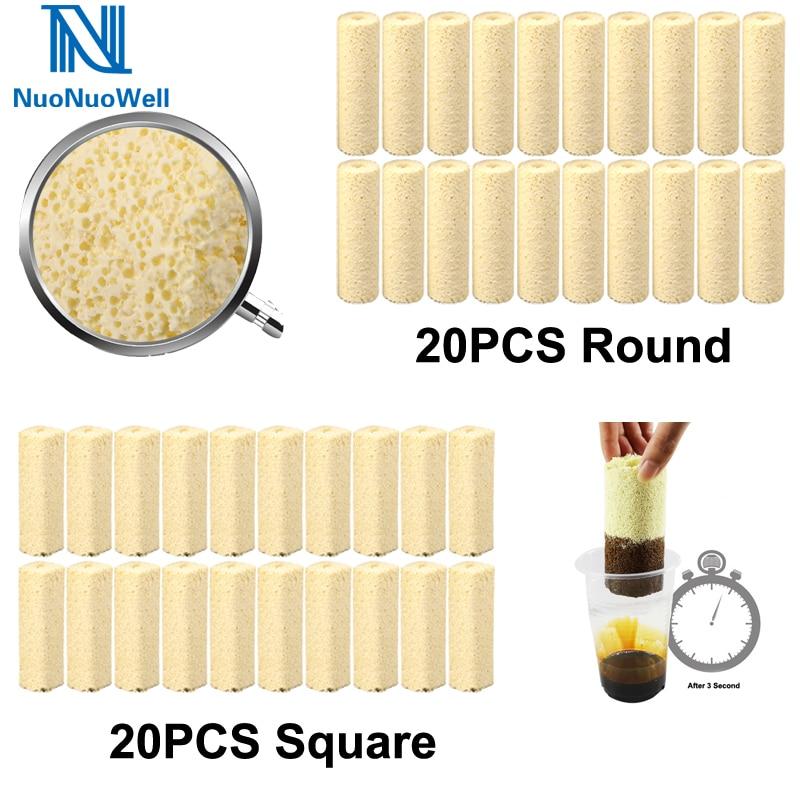 Big Sale 20Pcs-Pack Bio Filter Media Tube Bacteria House Aquarium Fish Tank Koi Pond Water Purification Sump Canister Filter
