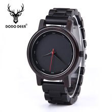 DODO DEER Ultimate Delicate Quartz Casual Watches Male Simple Chic Generous Man Vintage Wristwatches Men Watch DIY A02