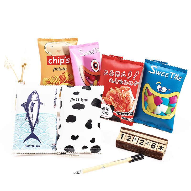 1 PC nowy ziemniaków chipsy piórnik na przybory szkolne Kawaii szkoła futerał na przybory do pisania piórnik ołówek torba