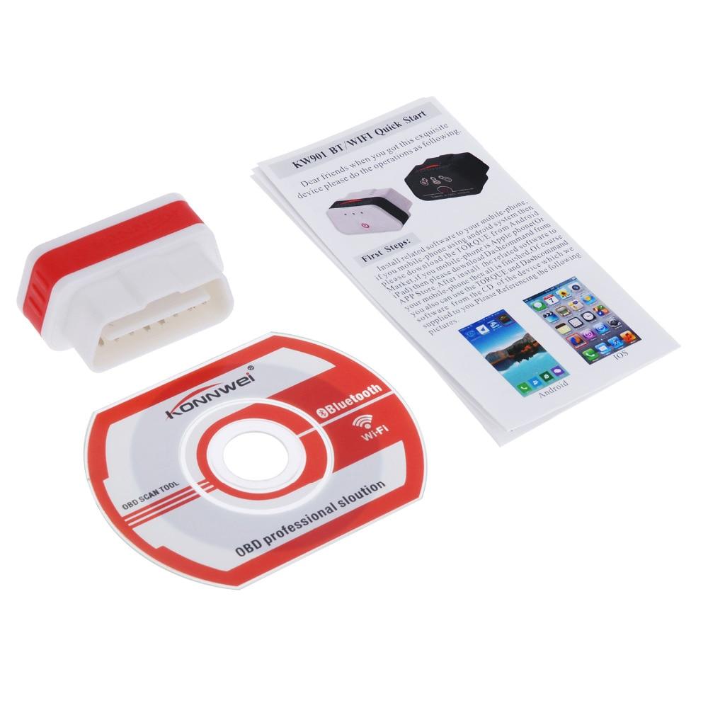 Vgata Icar Elm327 Code Scanner Reader Obd2 Elm327 V1.5 Obdii Wireless Bluetooth Car Engine Automotive Fault Diagnostic-tool