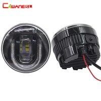 Cawanerl 2 X Car LED Fog Light DRL Daytime Running Lamp High Power For Mitsubishi Pajero