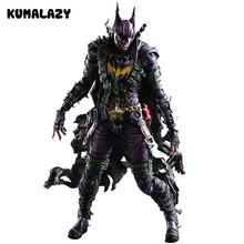 Batman Figura Gogues Galleria Joker di Batman Gioca Arts Kai Gioca Arte KAI Action Figure IN PVC Bat Man Bruce Wayne 26 cm Bambola Giocattolo(China)