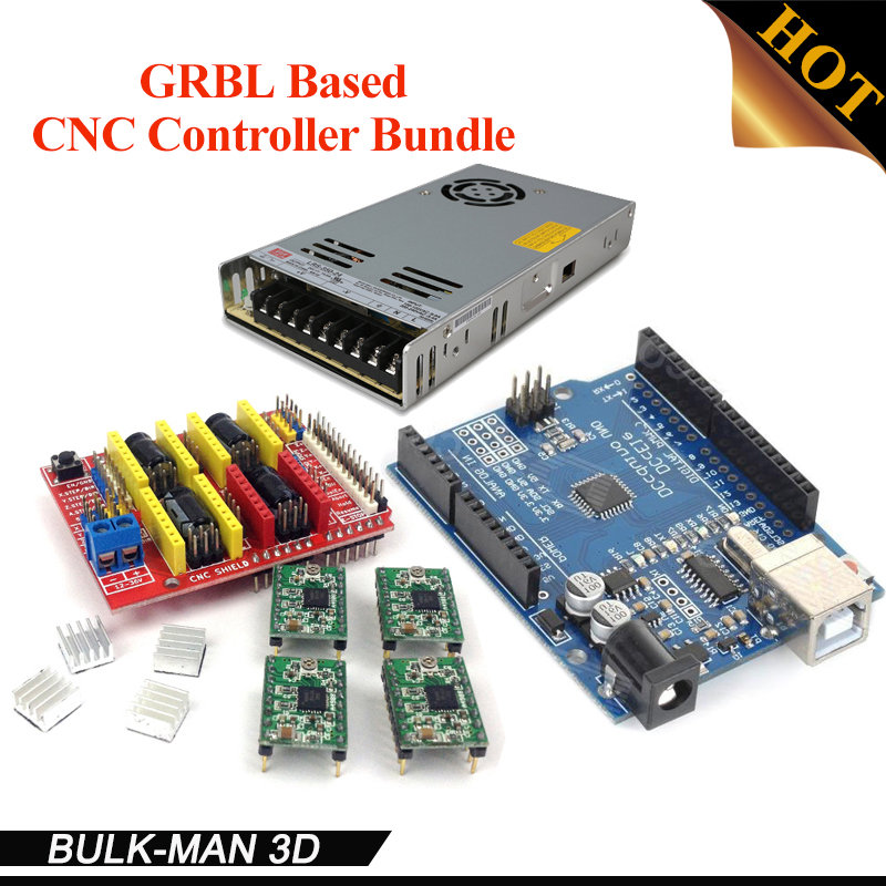 GRBL Based Compatible CNC Controller Bundle for OX CNC,Workbee and other CNC router machine kit цена