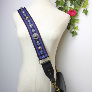 Image 3 - Bameder Bolso de lona con correa ancha de 96 100CM para mujer, bolsa de nailon, bolso de hombro con correa, accesorios, cómodo sombrero, correa para clavo