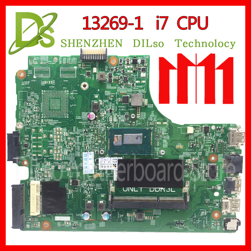 KEFU 13269-1 For DELL 3542 DELL 3442 dell 3543 5749 3443 motherboard 13269-1 PWB FX3MC REV A00 motherboard I7 GM work 100% for dell