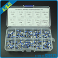 100pcs/set RM065 Trimming Potentiometer Variable Resistors Assorted Kit 10 Values Each 10pcs