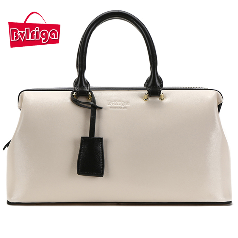 Bvlriga Luxury Handbags Women Bags Designer Women's Genuine Leather Handbags Ladies' Over-the-shoulder Bags Shoulder Bag Female ladies genuine leather handbag 2018 luxury handbags women bags designer new leather handbags smile bag shoulder bag