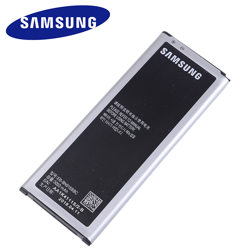 Original Replacement Samsung Battery For Galaxy NOTE4 N9100 N9106W N9108V N9109V NOTE 4 With NFC EB-BN916BBC 3000mAh