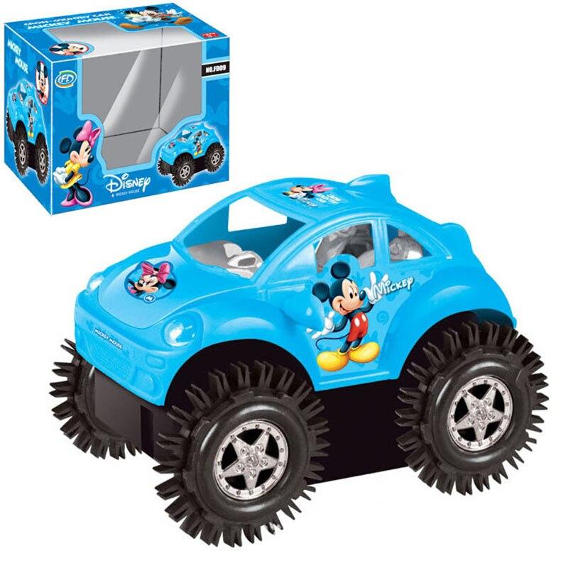 Bebé cars toys eléctrico rápido dump camiones niños mickey dumper puzzle cars ni