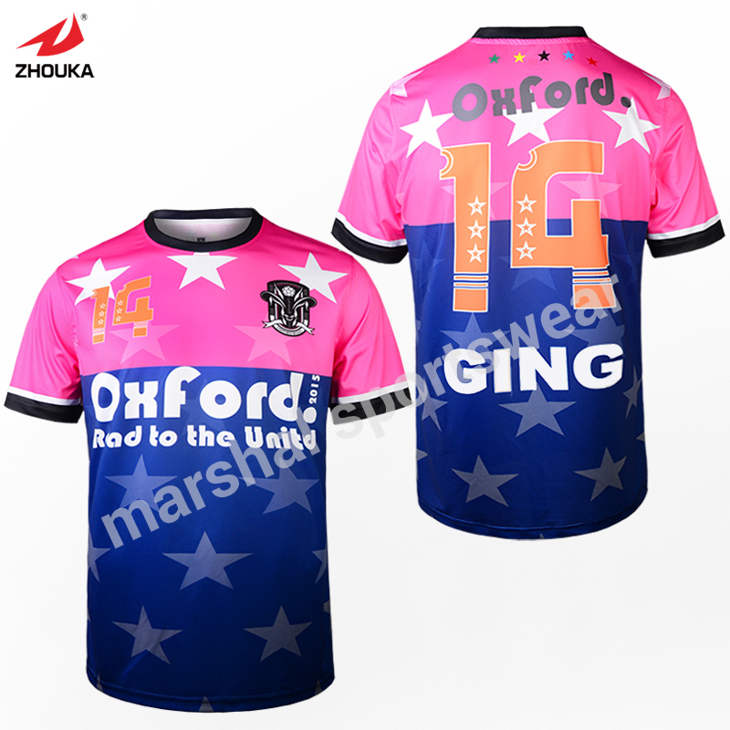 5aabecb5 Free shipping colorful newest sublimation football t shirt print dry ...